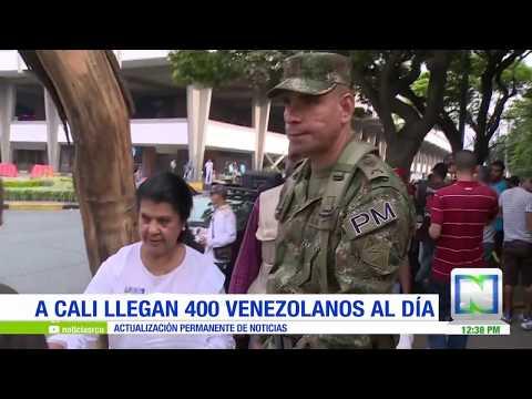 Con comida, ropa y medicamentos, así ayuda las FFMM a migrantes venezolanos