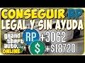 Gta 5 Online 1.29 - Conseguir RP Legal y Sin Ayuda