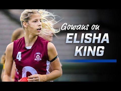AFLW: Scott Gowans on Elisha King (September 19, 2018)
