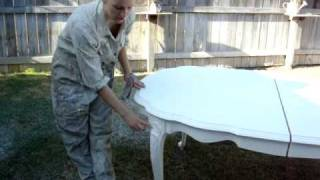 furniture painting & distressing