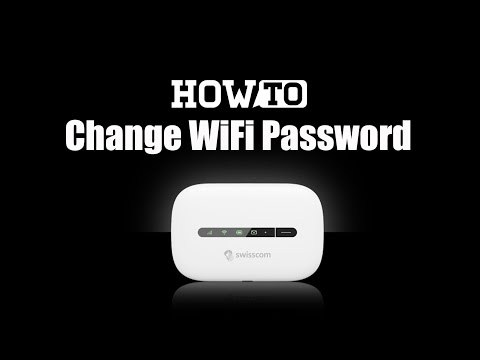 How To Change Mobile WiFi Password And SSID