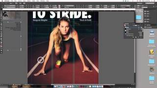 Poster Design For Beginners Tutorial Adobe Indesign Grid Layout Typography Part02