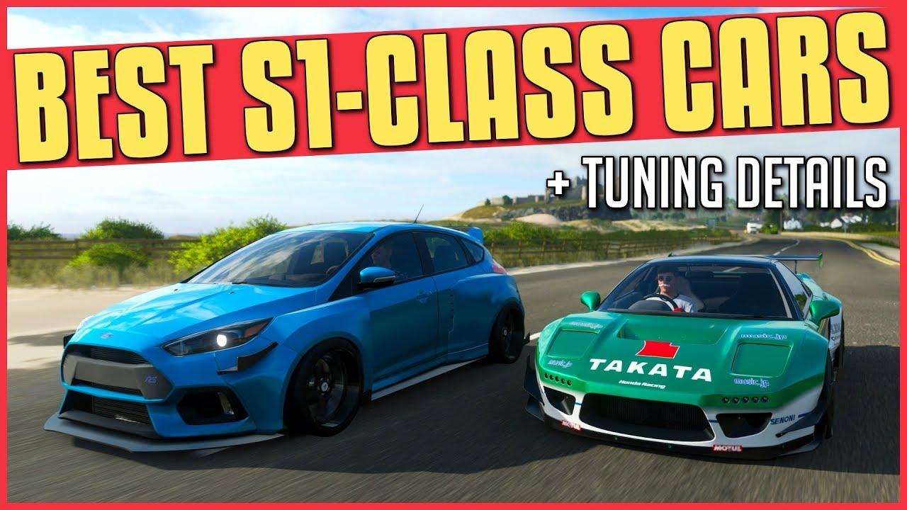 Forza Horizon 4 Best Cars Our Best A Class S1 Class Drag Drift Dirt And Cross Country Car Recommendations Eurogamer Net