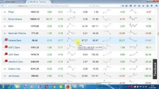 DAY TRADING LEGENDARY DEMO VIDEOS -HOW TO SELECT STOCK WITH THE HELP OF TODAY'S AND 30 DAYS TREND- 2