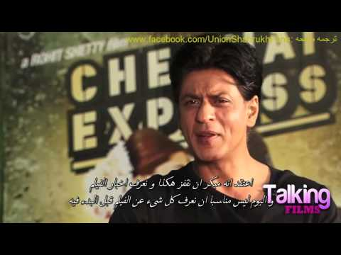 shahrukh khan interview on chennai express on bollywood hungama part 1 مترجم HD فيديو السفر
