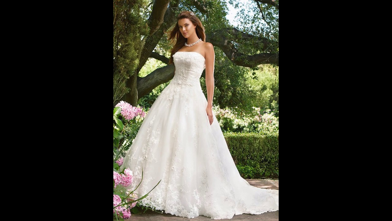 0a96eff71d Los mejores Casablanca vestidos de novia - YouTube