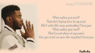 Nonso Amadi - What Makes You Sure ? (Lyrics)