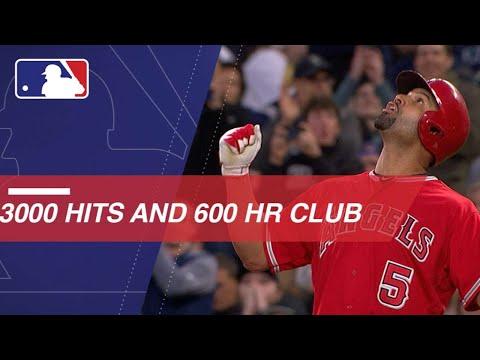 Albert Pujols Joins The 3,000-Hit, 600-HR Club