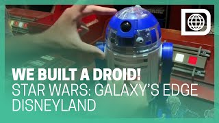 Building A Droid at the Droid Depot in Star Wars: Galaxy's Edge - Disneyland
