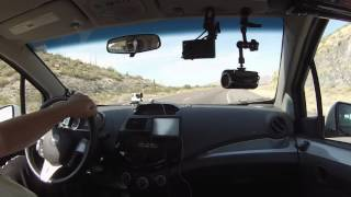 Robert Trudell drives U.S. Route 60 East through Superior, Arizona, 19 June 2015, GP026863