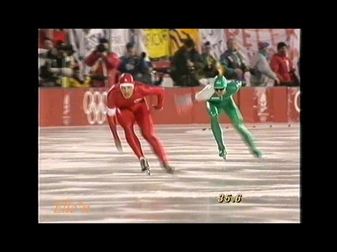 Winter Olympic Games Albertville 1992 - 1500 m Koss (Gold) - Hadschieff
