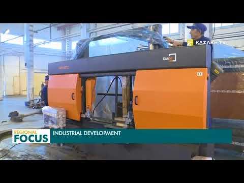 Industrial development of Kazakhstan