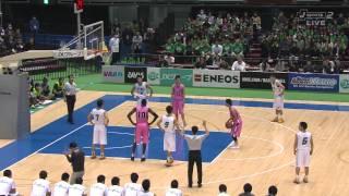 ウィンターカップ2014 高校バスケ男子3決 市立船橋 vs 桜丘