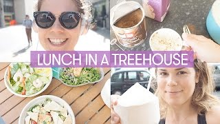 Lunch in a Treehouse  Vlog  Madeleine Shaw