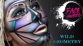 NYX FACE AWARDS UKRAINE 2017 | Wild geometry| #FACEWARDS_UA 2017