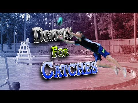 DIVING FOR CATCHES AT THE LOCAL POOL | ERIKTV365