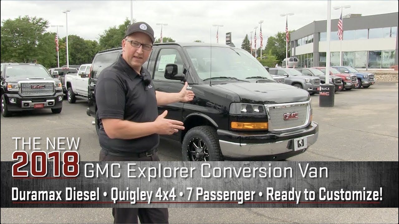 ROAD TEST: 2018 Duramax Diesel Lifted Quigley 4x4 Explorer Conversion Van
