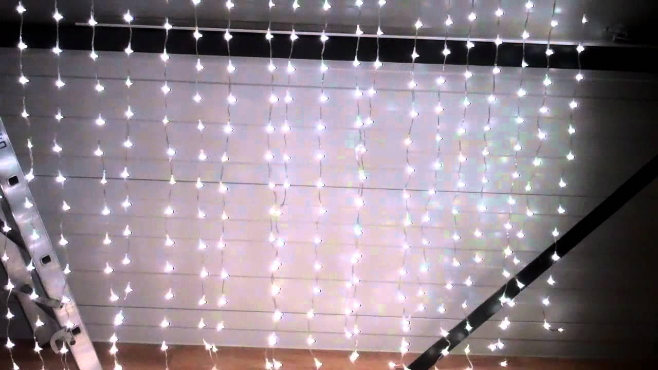 LED kerst verlichting instelbaar - YouTube
