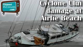 Cyclone Ului : Dramatic first video report