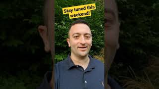 Stay tuned for this weekend!