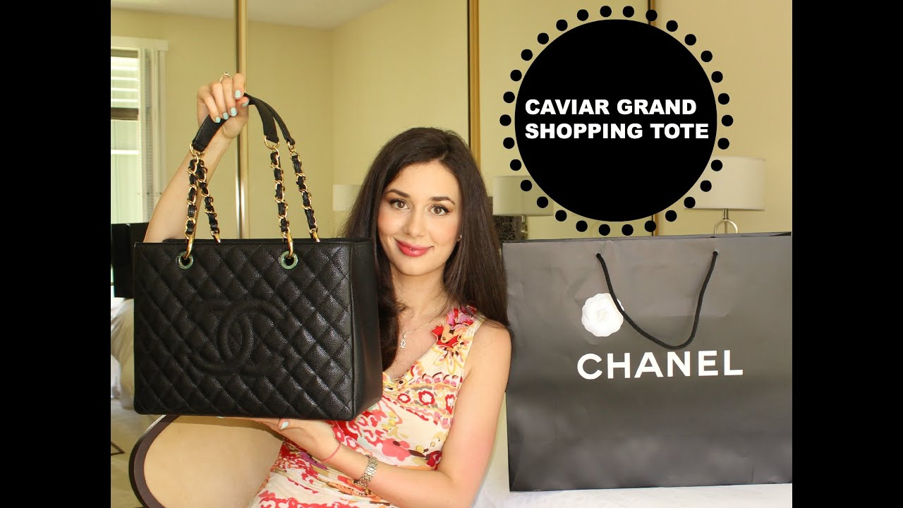 5c7cecd560ab Chanel Handbag Haul: Grand Shopping Tote Unboxing - YouTube