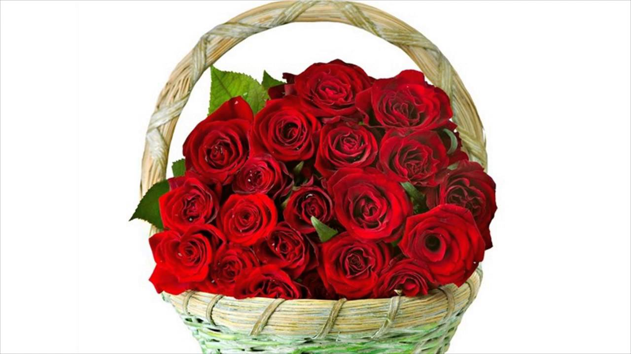 Beautiful Bouquets Of Red Roses - YouTube