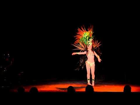 Molly Shannon Samba Dance