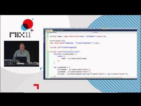 Knockout JS - 2011 MIX conference