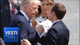 Trump and Macron Bromance Now Over! Slighted Frenchman Resorts to Snark and Passive Aggression