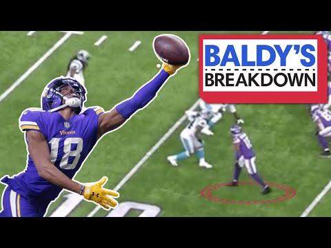 Breaking Down how Justin Jefferson should Win Rookie of the Year   Baldy Breakdowns