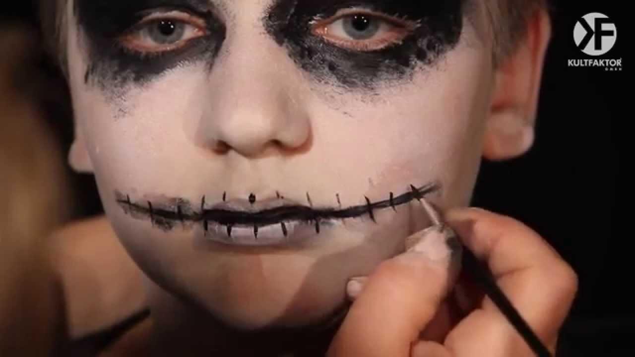 Schminken Zu Halloween Make Up Anleitung Fur Gespenster By