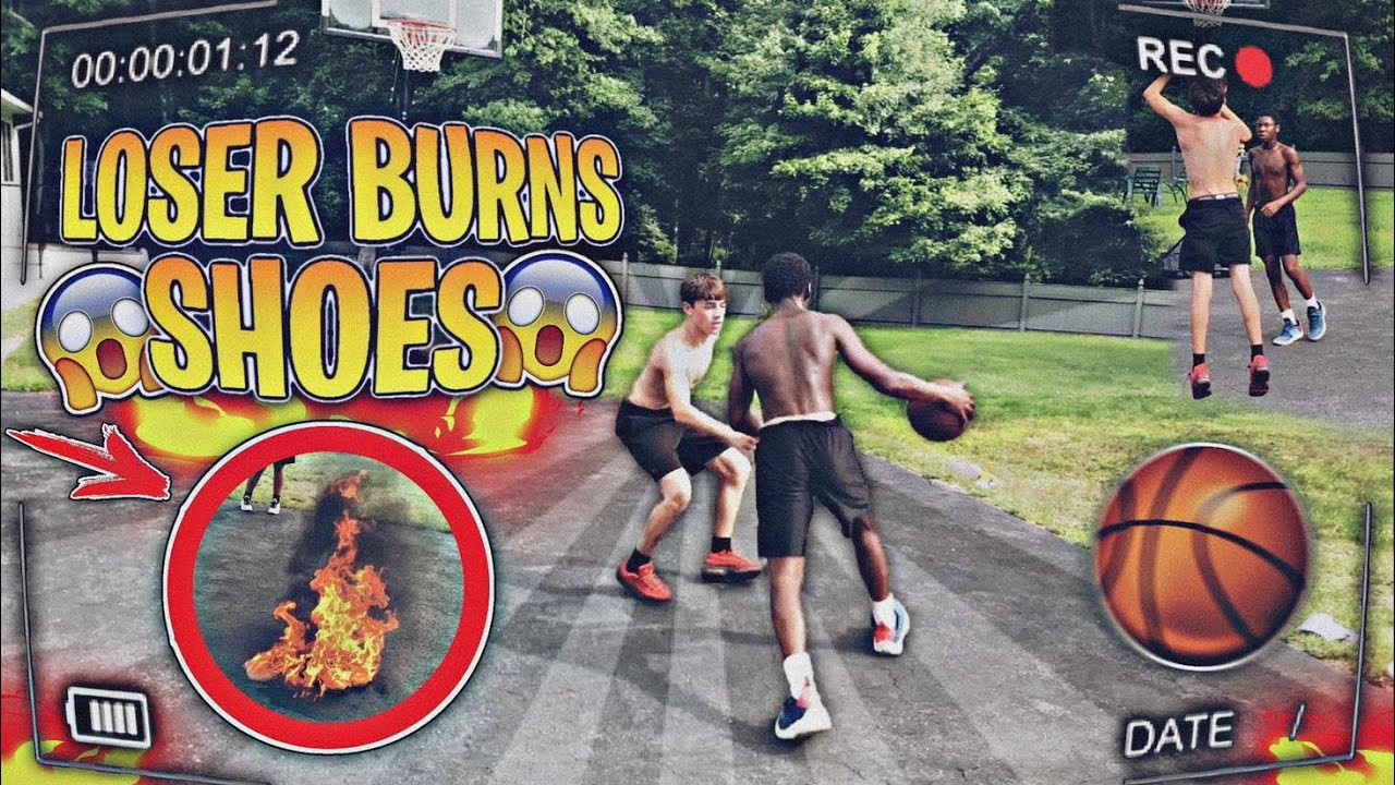 1v1 Loser Burns Shoes | Intense Rematch | Rare Shoes On The Line