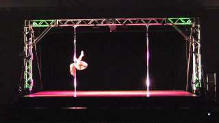 The Great Midwest Pole Dance Competition and Convention 2012 - Estee Zakar Performance