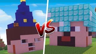 Minecraft: CASA DE NOOB VS. CASA DE PRO ‹ JUAUM ›