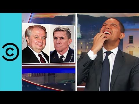 General Flynn Gets The Boot - The Daily Show | Comedy Central