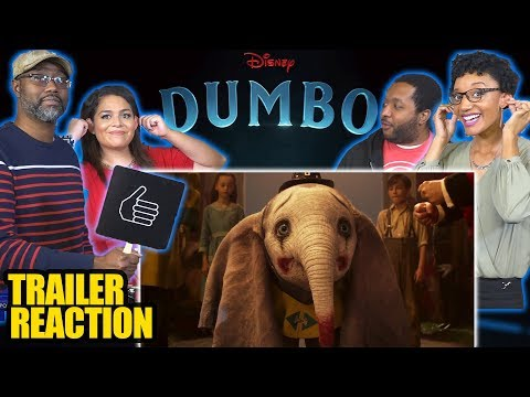 NERDS REACT to DUMBO   2019  Colin Farrell, Eva Green, Danny DeVito