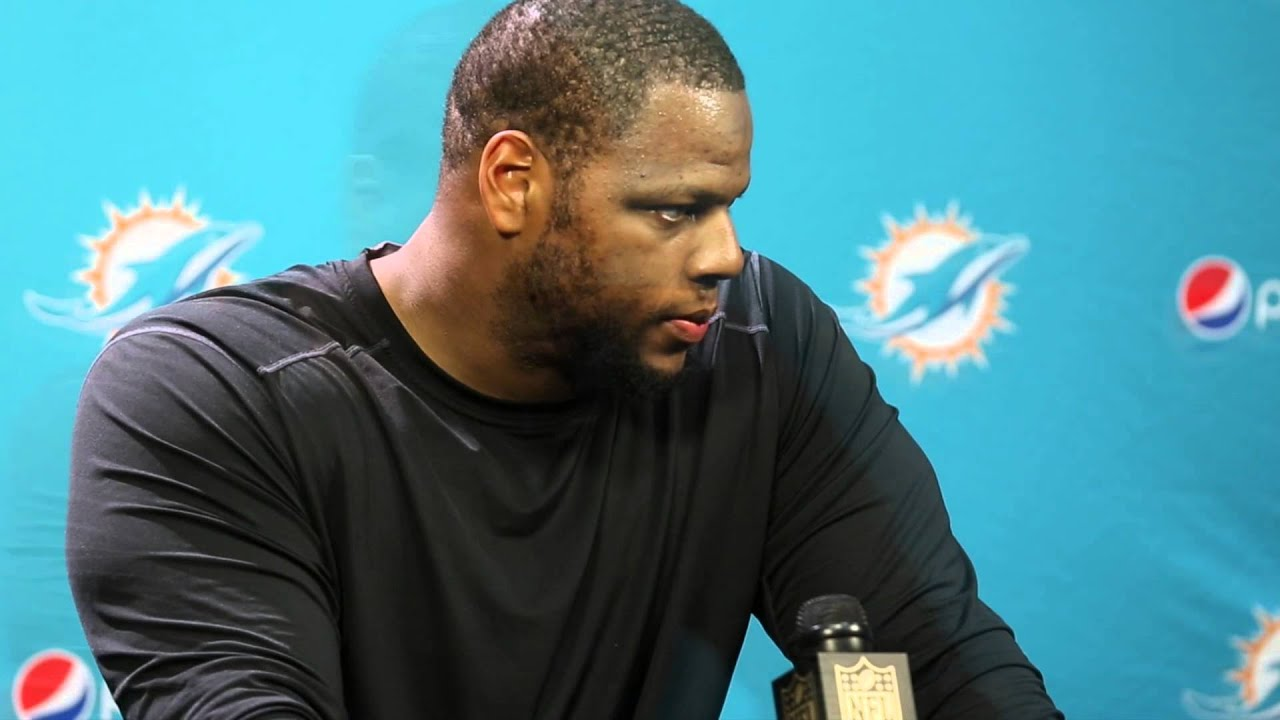 Video Dolphins Ndamukong Suh press conference after loss to