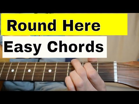 How To Play 'Round Here' - Counting Crows- Easy Acoustic Guitar Tutorial/Lesson