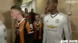 Manchester United Vs Hull  City | EFL CUP SECOND ROUND 2017