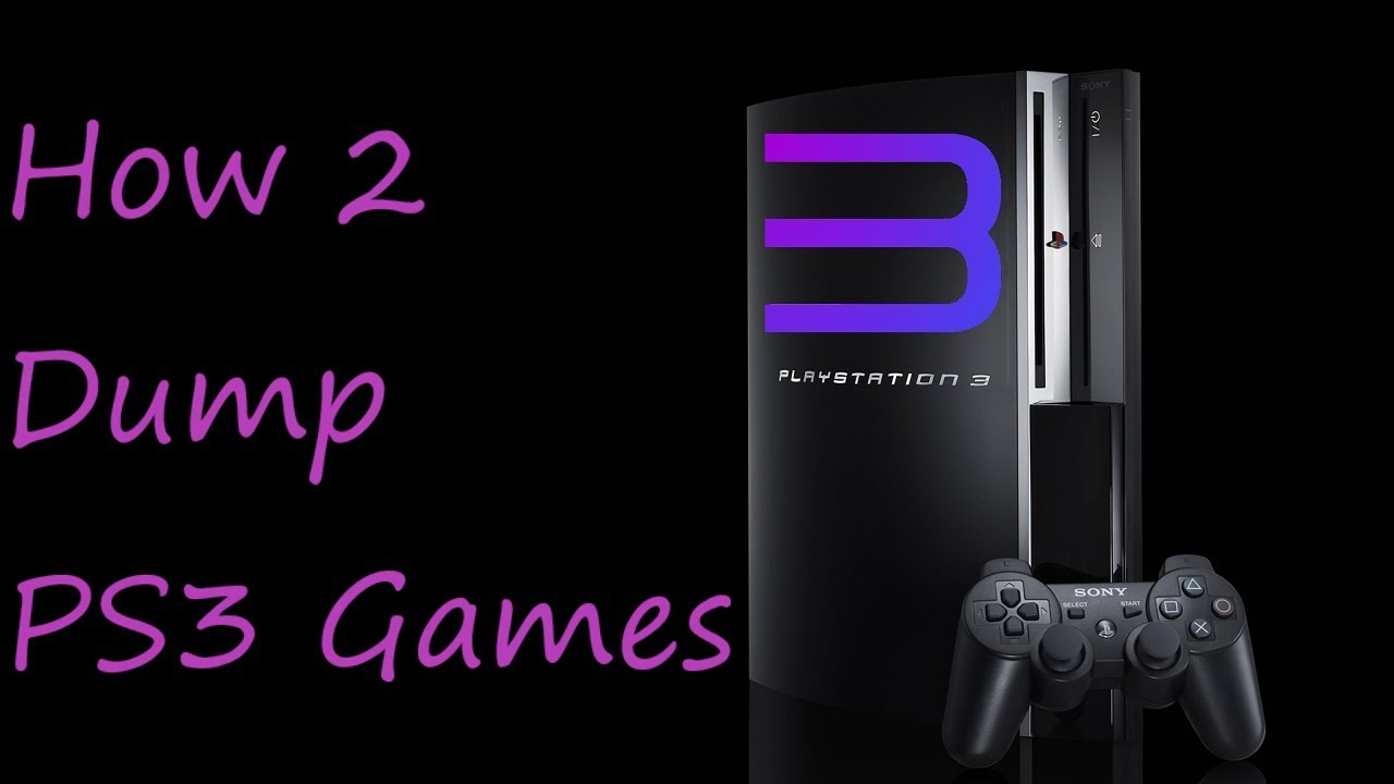 How To Dump Your PS3 Games (For RPCS3)
