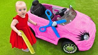 Five Kids Car Wash Song Nursery Rhymes