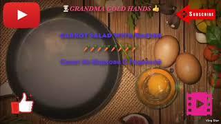 🥕Carrot Salad With Radish(Personal Recipe)— Салат из 🥕моркови с редиской