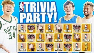 Insane NBA Trivia Party!