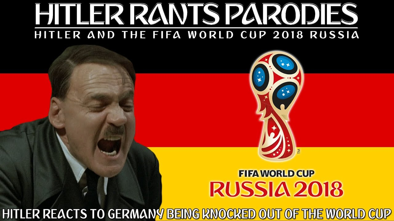 Hitler reacts to Germany being knocked out of the World Cup