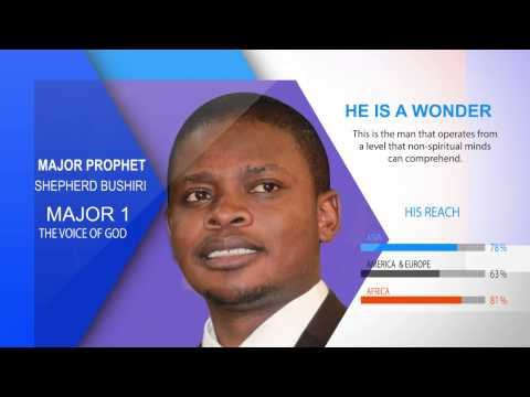 A man after Gods Heart-Prophet Shepherd Bushiri