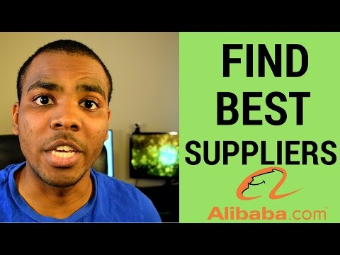 How To Find Suppliers on Alibaba