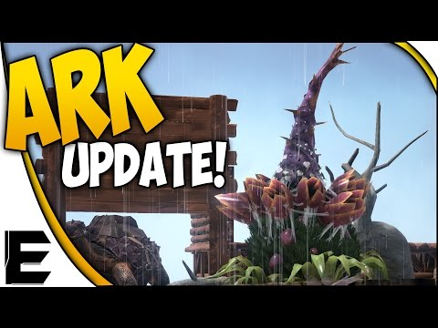 ARK Update ➤ SCUBA GEAR, Plant Species X ORGANIC TURRET, Spray Painter, Smoke Nades & More