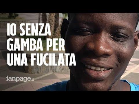 """Migranti, la storia di Daouda: """"Io, fucilato in Libia, ho perso una gamba: ma almeno sono vivo"""""""