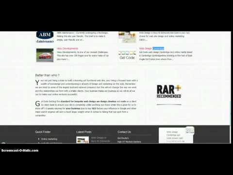 Web Design in cambridge