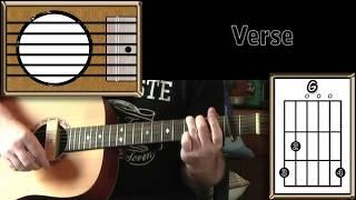 Скачать You Got It Roy Orbison Acoustic Guitar Lesson